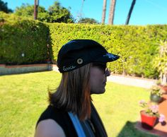 Black Cadet Cap Military Hat w/ Silver Heart Wings