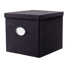 KVARNVIK storage boxes | IKEA, $7.99 - $19.99 - these would be really cute on the living room shelves