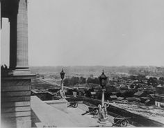 Nashville, Tenn., from the statehouse, 1864