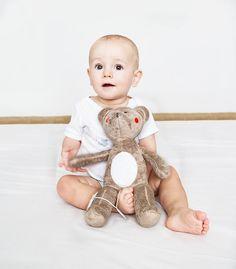 Kuscheltiere - My Teddy - Kuscheln mit dem Musik - ein Designerstück von muzponyde bei DaWanda