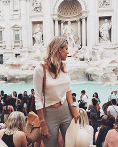 I want to help you look chic and not out of place when you go for your Rome vacation. So let's get to it and discuss and figure out what you need to pack