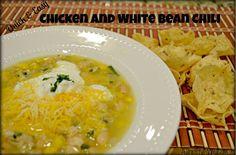 Chicken and white bean chili recipe