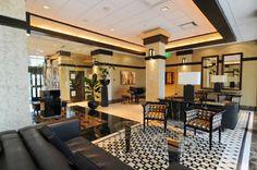 Bay Plaza lobby  - remodeled
