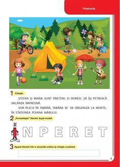 Caiet pentru vacanta - Clasa Pregatitoare Classroom, Children, Vertical Bar, Boys, Kids, Big Kids, Children's Comics, Sons, Kid