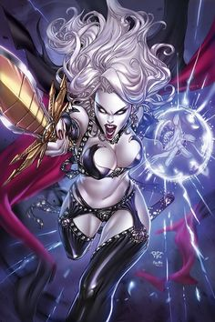 Lady Death by Paolo Pantalena, colours by Ula Mos...... !!!!
