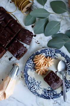 Brownie patate douce et chocolat noir par Emiliemurmure