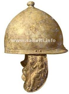 Montefortino helmet from Pietrabbondante. IV century B.C.