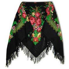wana hang it at my wardrobe ,, black russian scarf