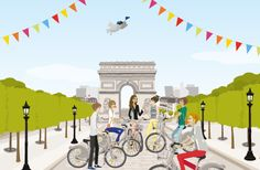 Champs-Élysées:les 24h Vélib' 2016 http://infos-75.com