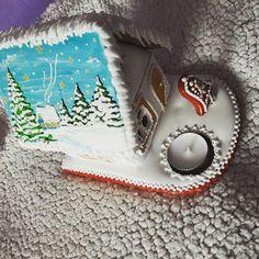 #artfood #art  #medovniky #med #honeycake #honey #medovník #pernicky #pernik #gingerbread #pain #painting #cook #colors #color #christmastime #christmas #sneh #vianoce #church #winters #winter #krajina #country #paint #painting #vianocnycas