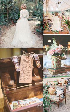 Vintage wedding ideas -vintage wedding theme and decoration ideas for wedding 2015