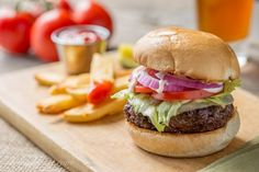 Marinated Burgers - a deliciously moist home grilled burger that tastes like steak!