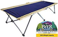 Camp in comfort with our simple to assemble Easy Cot. Simply unfold the camp cot. This camping cot for adults is incredibly strong for its size and holds up to King Size Mattress, Air Mattress, Rolling Bed, Tent Cot, Camping Cot, Camping Stuff, Camping Gear, Backpacking, Steel Bed Frame