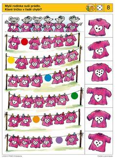 Piccolo: dobbelsteen kaart 8 Preschool Printables, Preschool Math, Preschool Worksheets, Kindergarten, Montessori Activities, Brain Activities, Iq Kids, Visual Perception Activities, Sequencing Cards