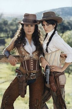 Steampunk cowgirls