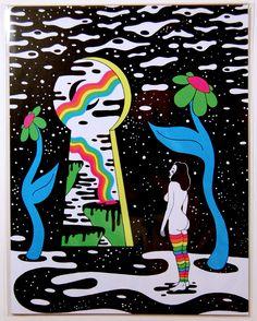 "'Mirror Image' - 8.5"" x 11"" Print / Jacqueline Denton"