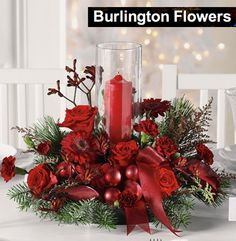 Christmas Floral Arrangements | 33 for a Christmas Floral Arrangement Delivered to Your Door from ...