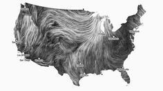In the same vane as NASA's presentation of ocean currents, please enjoy this visualization of wind patterns.
