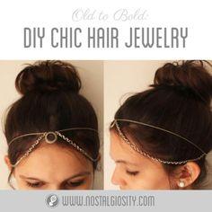 Hot To DIY Gatsby Inspired: DIY 1920s Hair Jewelry : DIY Headband DIY Hair Accessories