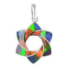 Ammolite Mosaic Star Sterling Silver Pendant Necklace 125SP$199.99#ammolite #korite #ammonite #fengshui #canada #canadagems #canadianammolite #gemstones #jewelry #jewelryaddict #photooftheday #jewelryoftheday #jewelrygram #colorful #gem #gems #opal #minerals #natureinspired #rainbow #alberta #fossil #Alaska #followersofinstagram #isellrocks #art #handmade #lapidary #madeinmontana #ammolite #ammolites