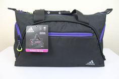 6fc5708f4fc9 adidas women s fearless club bag gym bag black 21.5