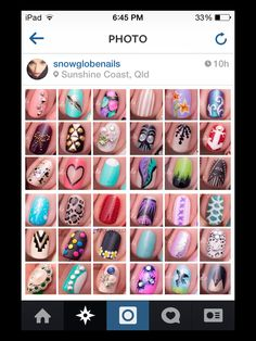 accent nails ideas by snowglobe nails