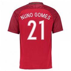 Portugal 2016 Nuno Gomes 21 Hemmatröja Kortärmad Portugal, 21st, Sports, Barn, Tops, Hs Sports, Converted Barn, Sport, Barns