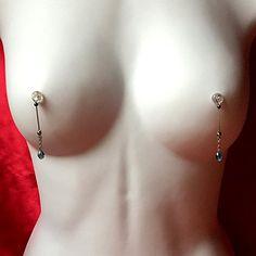 Nipple Jewelry Noose Faceted Teardrop Hawaiian Blue #nipplerings #nipples #nipplenoose #fashionblogger