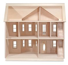The House That Jack Built - Rose Marie - Wooden Doll House