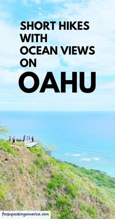 What are the best short hikes on Oahu that are perfect for your first trip to Hawaii? PLUS things to do near the hiking trails! Hawaii Honeymoon, Hawaii Travel, Beach Travel, Oahu Vacation, Vacation Ideas, Travel Destinations Beach, Travel Tips, Oahu Beaches, Architecture Design