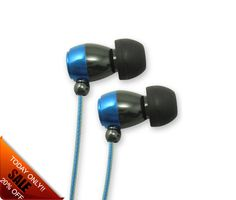 iCandy Metal earphone  Blue £9.99 tax incl. In ear design 2.5mm or 3.5mm connectors Inline mic an option All colours available on request Tubular or box packaging.
