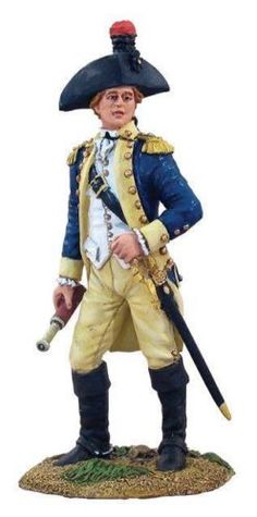 W-Britain-18009-French-Marquis-de-Lafayette-on-Foot-AWI