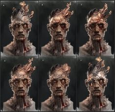 Clickers are the third and most distinctly recognized stage of the Infected. They have had prolonged exposure to the fungus, and now possess strength that significantly surpasses the average human. This makes them deadlier, but at the price of being completely blind due to fungal infection overtaking their face. However, Clickers are able to maneuver through areas by utilizing echolocation, which produces noticeable clicking noises to locate sources of sound.