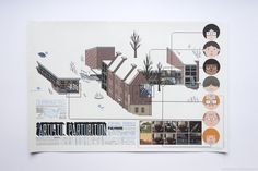 This is the double-sided show poster for Chris ware's 2005 exhibition at the Adam Baumgold gallery in New York. The show featured a selection of original ink drawings mainly taken from Acme Novelty Library #16. My copy of the poster is signed by Ware.
