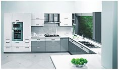 PU Coating modular Kitchen from nano Kitchen and Interiors :Ph:9349101300