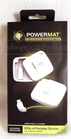 shopgoodwill.com: NIB PowerMat Wireless Charging (Universal )