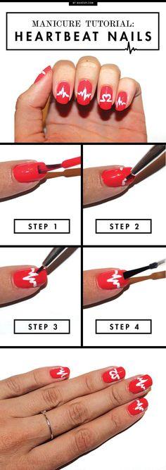 Manicure Monday: Heartbeat Nails