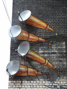 Graffiti art , street art , Urban art art Life style by urbanNYCdesigns 3d Street Art, Street Art Utopia, Best Street Art, Amazing Street Art, Street Art Graffiti, Street Artists, Amazing Art, Awesome, Art Environnemental