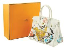 Lot 260 A Philippe Pasqua Birkin Hermès handbag 2007 A PHILIPPE PASQUA BIRKIN HERMES HANDBAG 2007  http://www.colasantiaste.com/?language=en