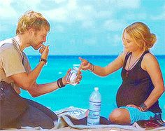 Charlie and Claire-- I never really watched this show but the little I did watch made me like them. and this is a supper cute picture.