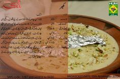 Kheer Pakistani Desserts, Masala Tv Recipe, Pakistan Food, Urdu Recipe, Main Course Dishes, Chicken Noodle Soup, Milkshake, Indian Food Recipes, Sweet Tooth