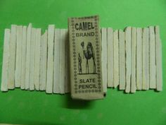 Camel r Brand, Slate Pencil, Chalk Made from Natural, India Saleti 200 gr. Homemade Sidewalk Chalk, Slate Board, Arts And Crafts Supplies, Earthy, Childhood Memories, Camel, Pencil, Handmade Gifts, Texture