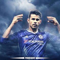 ' #Diegocosta #beast . . #soccer #football #futbol #sport #sports #design #edit #talent #best #goals #goal #euro #costa #chelsea #spain #brazil