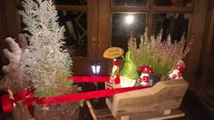 Sleigh planter from Glasgow Wood Recycling