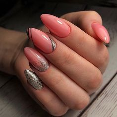 Blush Nails, Pink Nails, Cute Nails, Pretty Nails, May Nails, Classic Nails, Nagellack Trends, How To Grow Nails, Stylish Nails