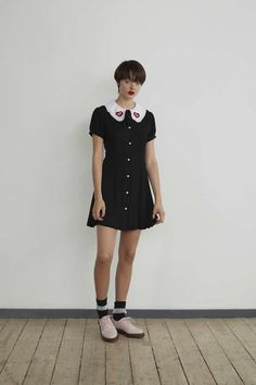 This Lazy Oaf Collection Features All Your Disney Faves | 101 Dalmatians inspired Peter Pan collar dress | 90s inspired fashion | [ http://di.sn/600588osJ ]