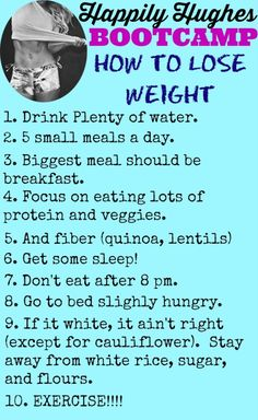 How to Lose Weight | Happily Hughes