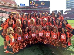 View the Super Bowl 50 cheerleaders photo gallery on Yahoo Sports. Find more news related pictures in our photo galleries. Denver Bronco Cheerleaders, Denver Broncos Football, Football Stadiums, Broncos Memes, Nfl Broncos, Colorado Rockies, Denver Colorado, Denver City, I Love Lucy