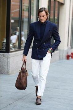 How to wear: De witte broek - Manners.nl