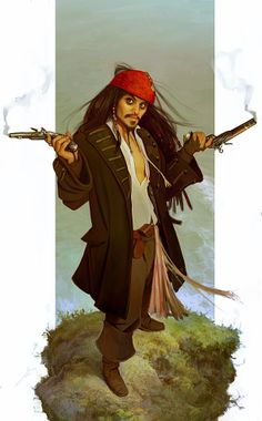 Sketch Of The Week: Captain Jack Sparrow